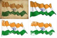 Σημαία της Ινδίας Στοκ Φωτογραφίες