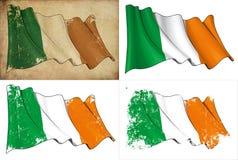 Σημαία της Ιρλανδίας Στοκ Φωτογραφία