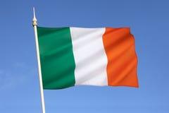 Σημαία της Ιρλανδίας - της Ευρώπης Στοκ Εικόνες