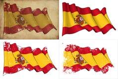 Σημαία της Ισπανίας Στοκ εικόνες με δικαίωμα ελεύθερης χρήσης