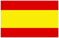 Σημαία της Ισπανίας Στοκ Φωτογραφία