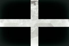 Σημαία της Κορνουάλλης Στοκ Εικόνες