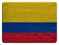 Σημαία της Κολομβίας Στοκ Φωτογραφίες
