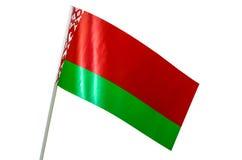Σημαία της Λευκορωσίας, Λευκορωσία, χαρακτήρας, πολιτισμός, εθνικός Στοκ Φωτογραφίες