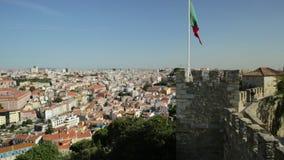 Σημαία της Λισσαβώνας Castle φιλμ μικρού μήκους