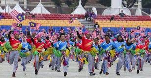 Σημαία της Μαλαισίας, Jalur Gemilang Στοκ φωτογραφίες με δικαίωμα ελεύθερης χρήσης