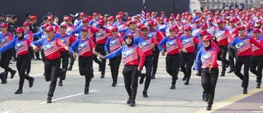 Σημαία της Μαλαισίας, Jalur Gemilang Στοκ φωτογραφία με δικαίωμα ελεύθερης χρήσης