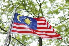 Σημαία της Μαλαισίας, Jalur Gemilang Στοκ Φωτογραφία