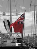 σημαία της Μεγάλης Βρετανίας μεγάλη Στοκ Εικόνες