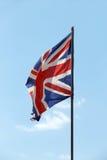 σημαία της Μεγάλης Βρετανίας μεγάλη Στοκ εικόνα με δικαίωμα ελεύθερης χρήσης