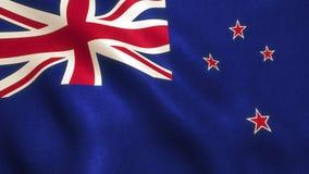 Σημαία της Νέας Ζηλανδίας - Όουκλαντ Στοκ Φωτογραφία