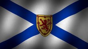 Σημαία της Νέας Σκοτίας ελεύθερη απεικόνιση δικαιώματος