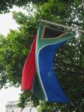 Σημαία της Νότιας Αφρικής της Νότιας Αφρικής Στοκ Εικόνες