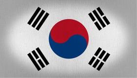 Σημαία της Νότιας Κορέας ελεύθερη απεικόνιση δικαιώματος