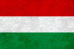 Σημαία της Ουγγαρίας - μαρμάρινη σύσταση διανυσματική απεικόνιση