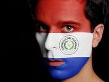 Σημαία της Παραγουάης Στοκ φωτογραφίες με δικαίωμα ελεύθερης χρήσης
