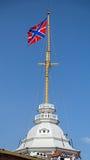 Σημαία της Ρωσίας ναυτικού Στοκ Εικόνες