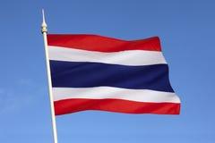 Σημαία της Ταϊλάνδης - της Νοτιοανατολικής Ασίας Στοκ φωτογραφίες με δικαίωμα ελεύθερης χρήσης