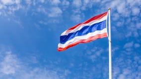 Σημαία της Ταϊλάνδης Στοκ φωτογραφία με δικαίωμα ελεύθερης χρήσης