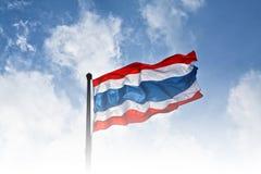 Σημαία της Ταϊλάνδης Στοκ Φωτογραφία