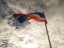 Σημαία της Ταϊλάνδης Στοκ Φωτογραφίες