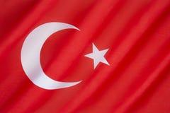 Σημαία της Τουρκίας Στοκ εικόνες με δικαίωμα ελεύθερης χρήσης