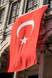 Σημαία της Τουρκίας Στοκ Φωτογραφία