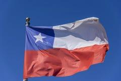 σημαία της Χιλής διανυσματική απεικόνιση