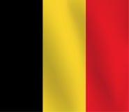 Σημαία του Βελγίου - διανυσματική απεικόνιση Στοκ εικόνες με δικαίωμα ελεύθερης χρήσης