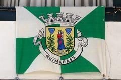 Σημαία του Γκιμαράες, Πορτογαλία Στοκ Εικόνες
