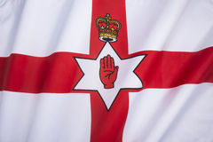 Σημαία του εμβλήματος της Βόρειας Ιρλανδίας - της Ulster Στοκ Εικόνες