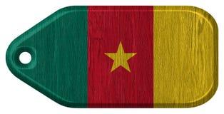 Σημαία του Καμερούν Στοκ εικόνες με δικαίωμα ελεύθερης χρήσης