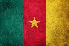 σημαία του Καμερούν grunge Σημαία του Καμερούν με τη σύσταση grunge Στοκ φωτογραφία με δικαίωμα ελεύθερης χρήσης