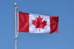 σημαία του Καναδά εθνική στοκ εικόνες