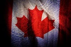 """Σημαία Ï""""Î¿Ï… Καναδά, φιλτραρισμένο Grunge υπόβαθρο στοκ φωτογραφίες"""