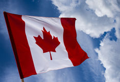 σημαία του Καναδά Στοκ Εικόνες