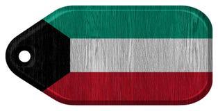 Σημαία του Κουβέιτ Στοκ εικόνα με δικαίωμα ελεύθερης χρήσης