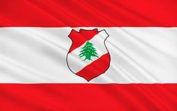 Σημαία του Λιβάνου στοκ εικόνες με δικαίωμα ελεύθερης χρήσης