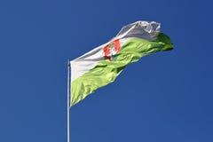 Σημαία του Λουμπλιάνα Στοκ Εικόνα