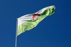 Σημαία του Λουμπλιάνα Στοκ φωτογραφία με δικαίωμα ελεύθερης χρήσης