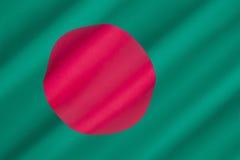 σημαία του Μπαγκλαντές Στοκ Φωτογραφίες