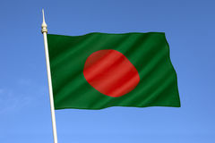 Σημαία του Μπανγκλαντές Στοκ φωτογραφίες με δικαίωμα ελεύθερης χρήσης