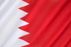 σημαία του Μπαχρέιν Στοκ εικόνα με δικαίωμα ελεύθερης χρήσης