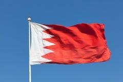 σημαία του Μπαχρέιν Στοκ φωτογραφία με δικαίωμα ελεύθερης χρήσης