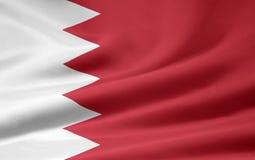 σημαία του Μπαχρέιν Στοκ Φωτογραφία
