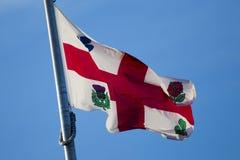 Σημαία του Μόντρεαλ Στοκ Φωτογραφίες