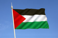 Σημαία του Παλαιστίνιου Στοκ φωτογραφίες με δικαίωμα ελεύθερης χρήσης
