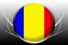 σημαία του Τσαντ ελεύθερη απεικόνιση δικαιώματος