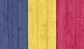 σημαία του Τσαντ στοκ εικόνες με δικαίωμα ελεύθερης χρήσης