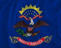 Σημαία του υποβάθρου της βόρειας Ντακότας, Garden State ειρήνης διανυσματική απεικόνιση